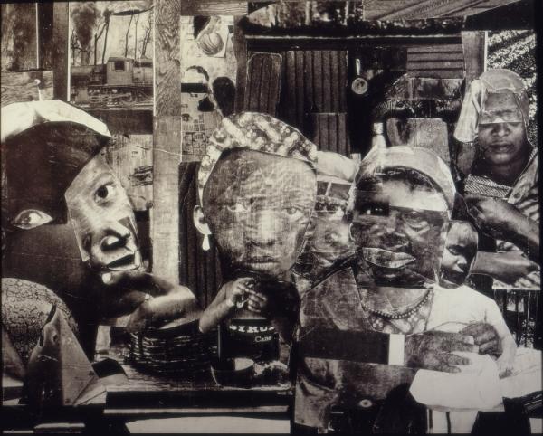 Romare Bearden, Mysteries Collage