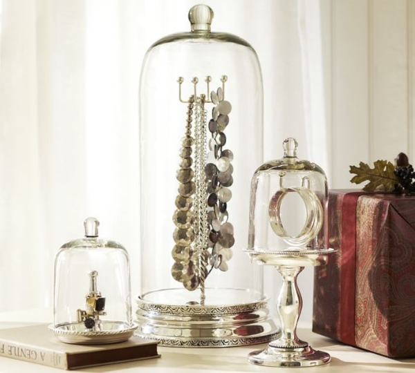 Glass Jewelry Storage